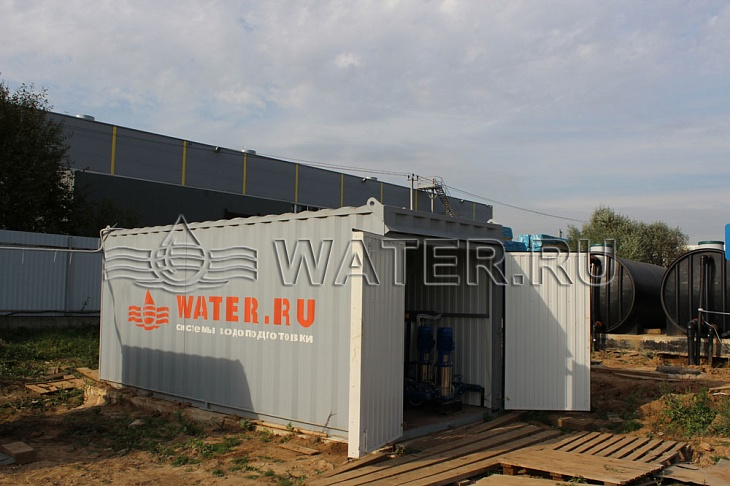 система водоподготовки в контейнерном исполении