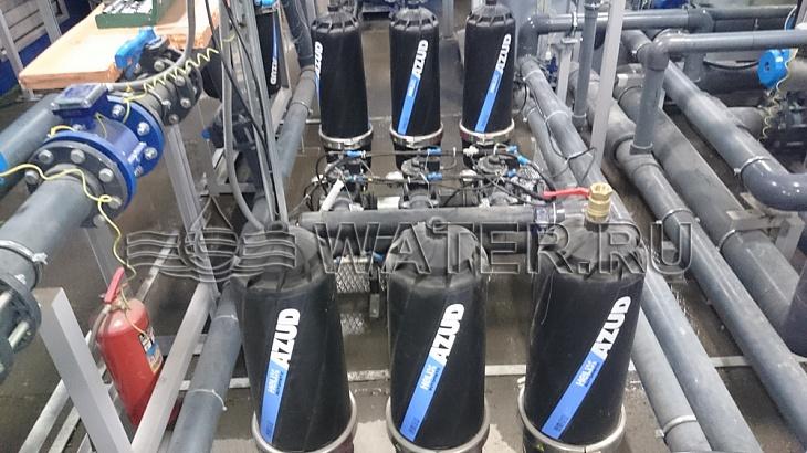автоматические дисковые фильтры azud 203hf/4fx